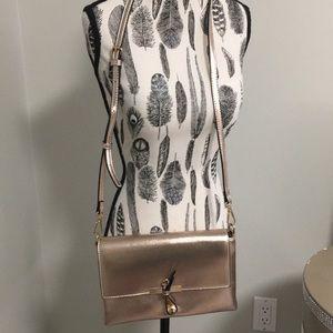 Rose gold purse/clutch